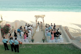 Cabo San Lucas oceanfront wedding location