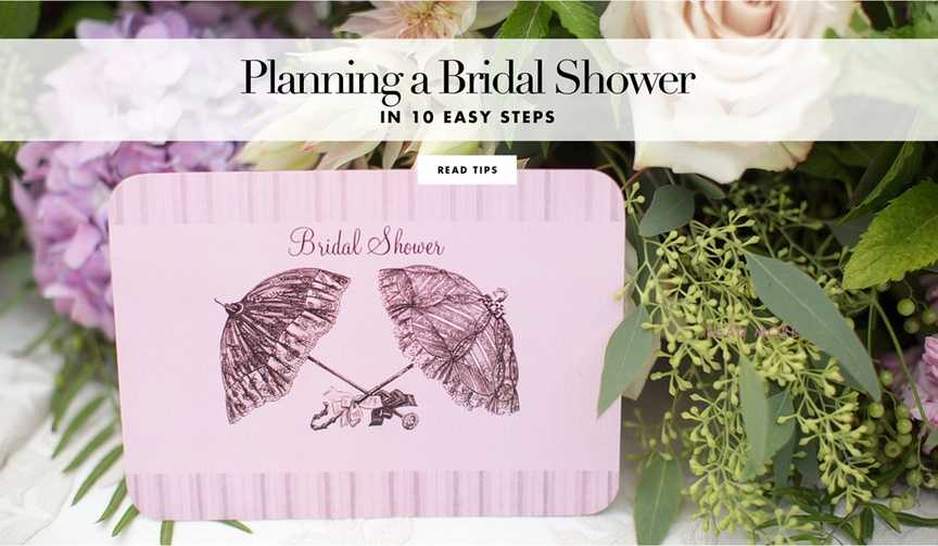 How to host the perfect bridal shower for your bride