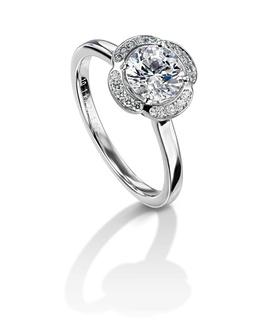 Furrer Jacot 53-66640-0-W platinum engagement ring
