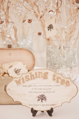 Keri Lynn Pratt wedding wishing tree guest book alternative