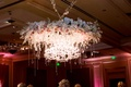 floral chandelier fixture gems crystals classic bella flora of dallas wedding reception grand dance