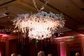 floral chandelier fixture gems crystals classic bella flora of dallas wedding reception grand dance