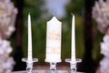 wedding ceremony ideas candle lighting service to honor late loved ones grandfather and grandmother
