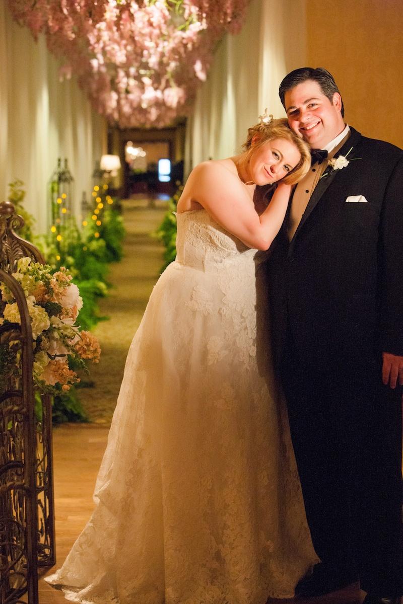 Ashley Rovere and Lucas Mendez wedding portrait
