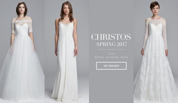 Light And Airy Wedding Dresses From Christos Spring 2017 Inside - Light Wedding Dress