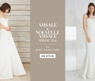Amsale and Nouvelle Amsale spring 2018 bridal collection wedding dresses