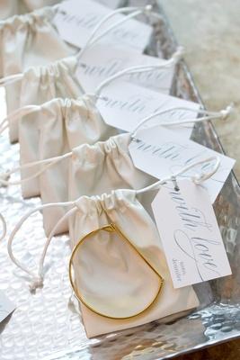 "Lola James ""Lock It Up"" bracelets bridesmaid gifts from Jennifer Stone"