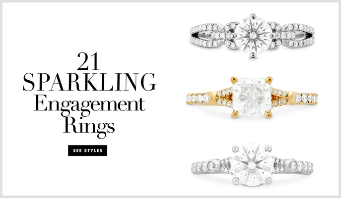 Hearts On Fire wedding rings and engagement ring styles