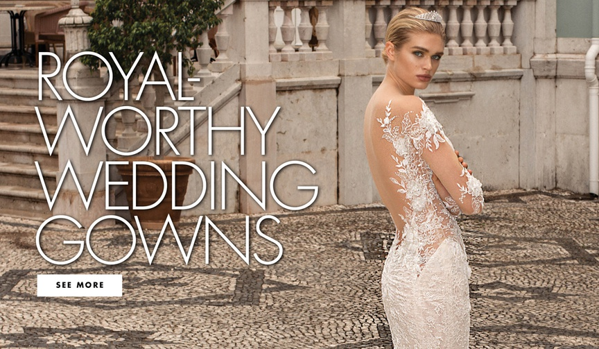 Royal worthy wedding dresses from the alegria collection by galia lahav