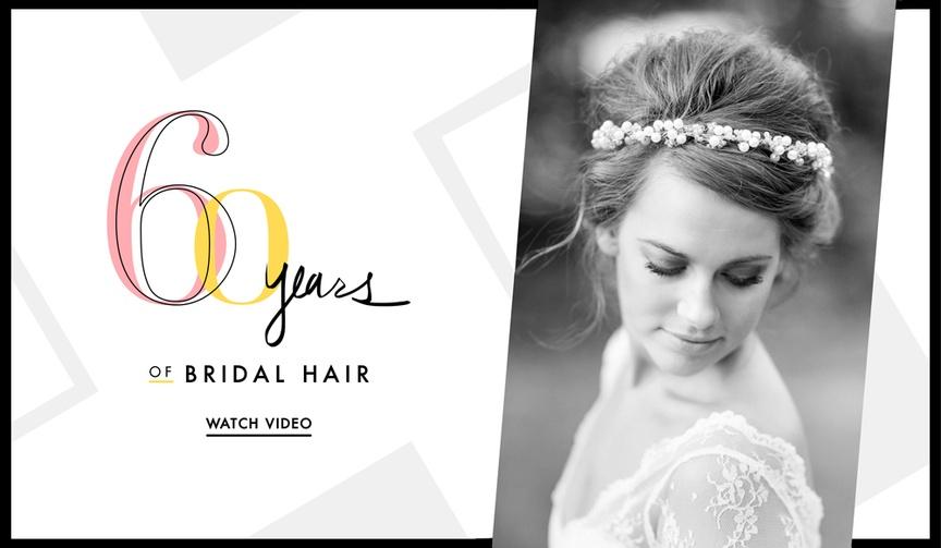 Wedding hair ideas vintage 80s 90s today