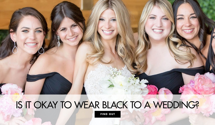 Is it okay to wear black to a wedding black bridesmaid dresses black wedding guest dresses