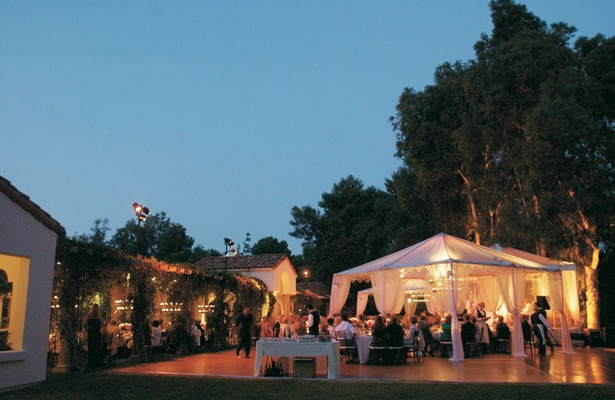 Exceptional ... Outdoor Dance Floor And Dinner Tents ...