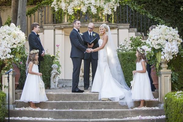 Charming Wedding At California Estate Inspired By European Villa