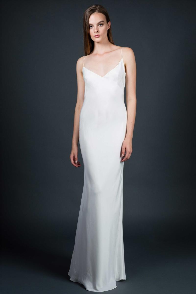 Wedding Dresses Photos Narrow Slip By Sarah Janks Inside Weddings