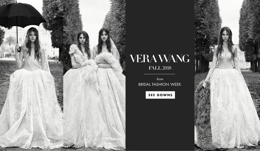 Vera Wang Fall 2018 bridal collection wedding dresses