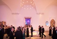 Wedding winter theme lights museum wedding in brooklyn new york black tie formal event