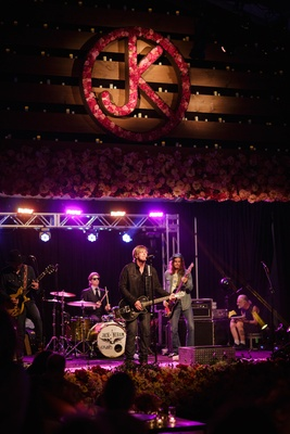 Academy of Country Music Award winning artist Jack Ingram performs at ranch wedding weekend