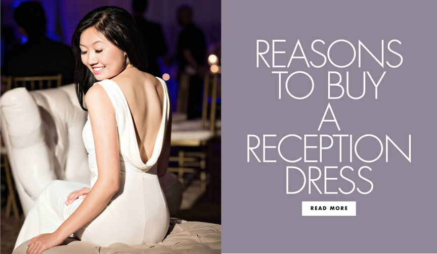 reasons to buy a wedding reception dress second dress for wedding
