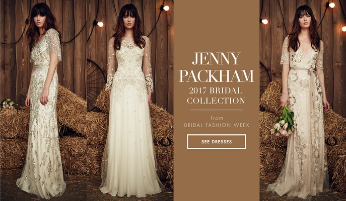 Rustic and stylish wedding dresses from the jenny packham 2017 jenny packham 2017 bridal collection wedding dresses junglespirit Image collections