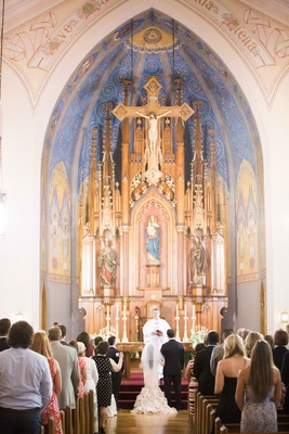 st. mary's catholic church in columbus ohio wedding,