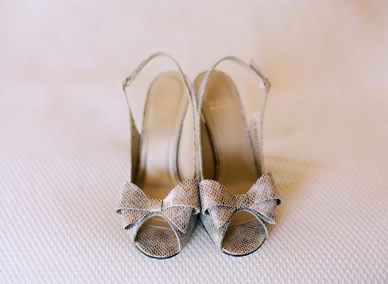 Python print peep-toe high heel