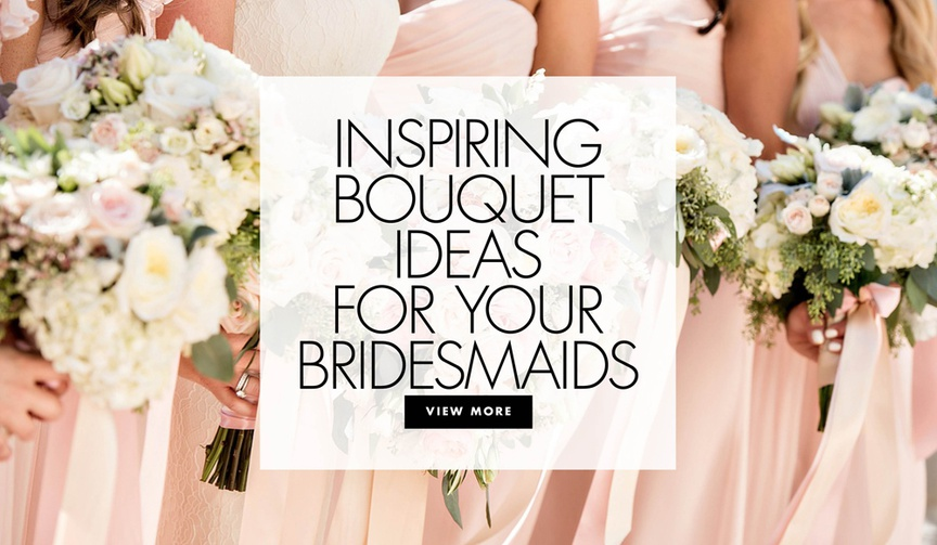 See more elegant bridesmaid bouquet ideas from real weddings!