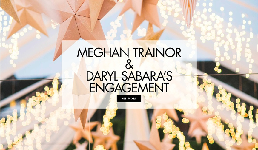 meghan trainor and daryl sabara from spy kids are engaged