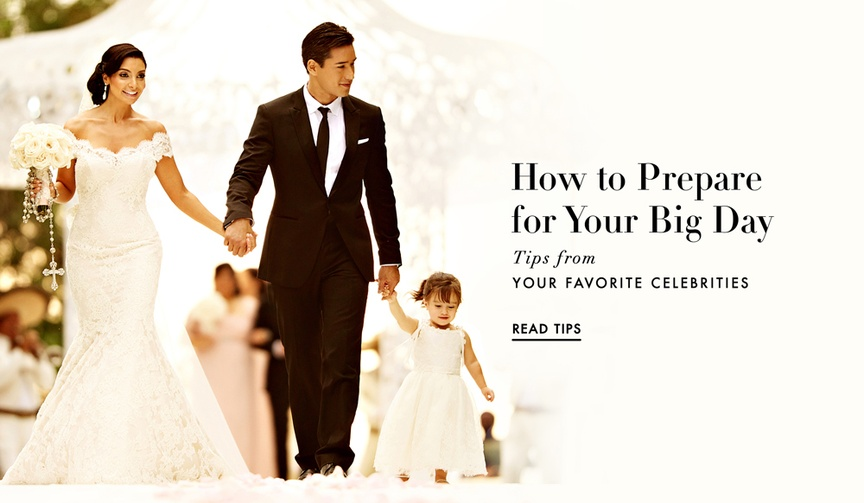 Anya Sarre shares celebrity tips for preparing for the wedding day