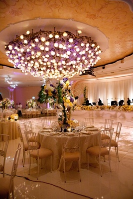 Beverly Hills Hotel Crystal Ballroom reception