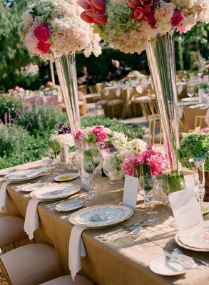 Spring garden wedding in montecito california inside for Green spring gardens wedding