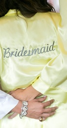 Yellow Bridesmaid Robes