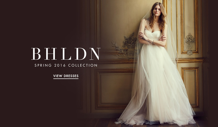 BHLDN Spring 2016 wedding dress collection