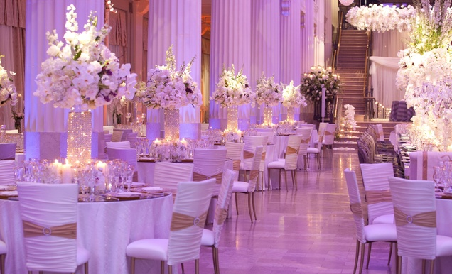 Exceptional Wedding Event In Historical Houston Building Inside