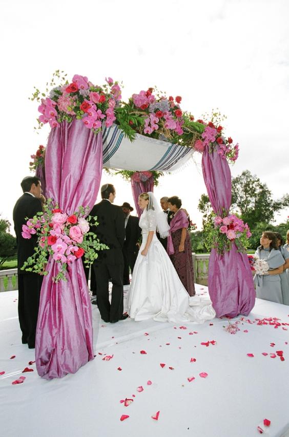 Elegant Jewish Garden Themed Wedding In San Diego California