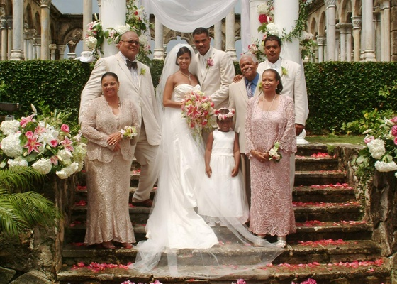 Big Lace Mother Of The Bride And Groom Attire
