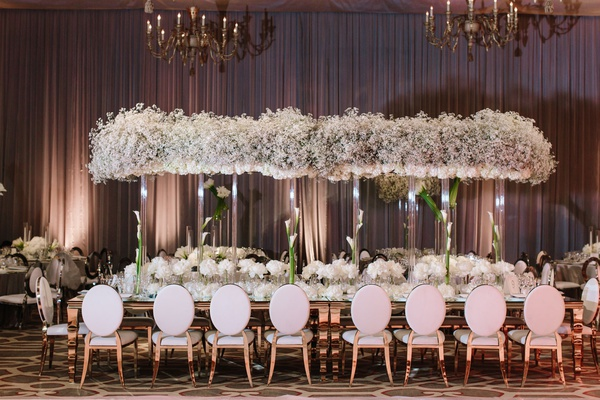 Luxury Wedding With Romantic White Color Palette In Beverly Hills