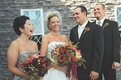 Couple with best man and maid of honor