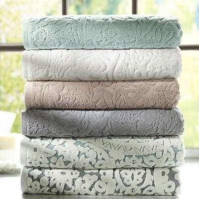 Textured bath towel wedding gift idea