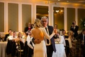 duane kuiper dances with daughter dannon at her wedding, bride with open back wedding dress