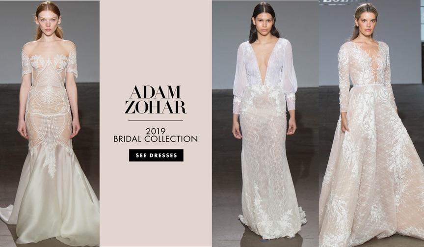 Bridal Fashion Week: Adam Zohar Spring 2019