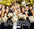 tips for being a wedding guest after getting engaged
