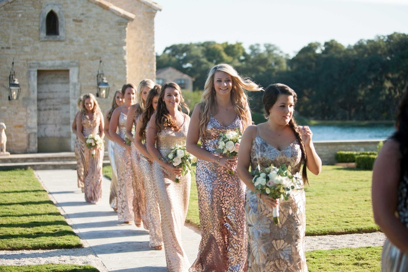 Brides & Bridesmaids Photos - Mismatched