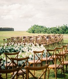 mariana paola vicente and kike hernandez puerto rico wedding ceremony wood vineyard chairs flowers