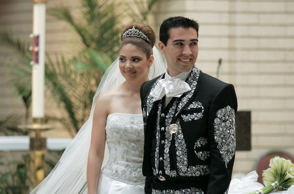Groom Wears Charro Suit at Traditional Laguna Beach Wedding - Inside ...