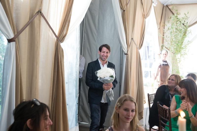 groom surprising bride bridal shower love couples wedding pre party event new york city