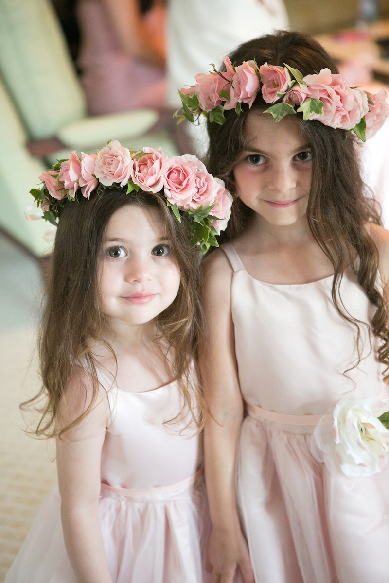 Flower Girls Amp Ring Bearers Photos Pink Rose Flower