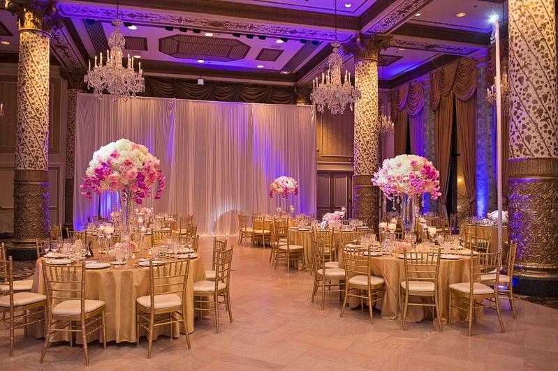 the drake hotel gold coast room, opulent reception