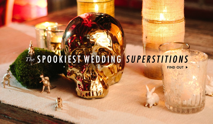 Wedding superstitions in honor of Friday the 13th