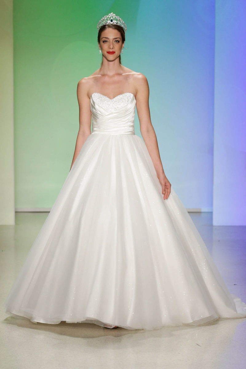 Wedding dresses photos cinderella limited edition by alfred alfred angelo 2017 disney fairy tale weddings bridal cinderella special edition strapless satin gown ombrellifo Gallery