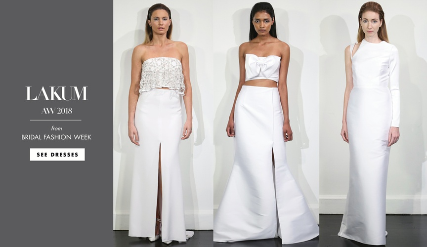 bridal fashion week: lakum fall 2018